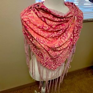 Juicy couture scarf wrap